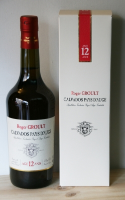 Calvados Pays d'Ange Roger Groult 12 ans - 70 cl